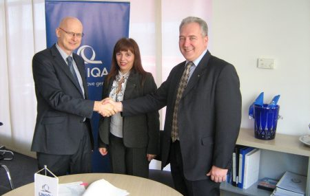 Prvi ugovor o franšizi u finansijskom sektoru koji je ušao u istoriju austrijskog osiguranja.